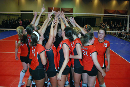 28th Volleyball vs. Bryan-AAC Tourney Photo