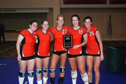 29th Volleyball vs. Bryan-AAC Tourney Photo