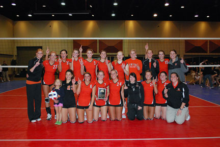 30th Volleyball vs. Bryan-AAC Tourney Photo