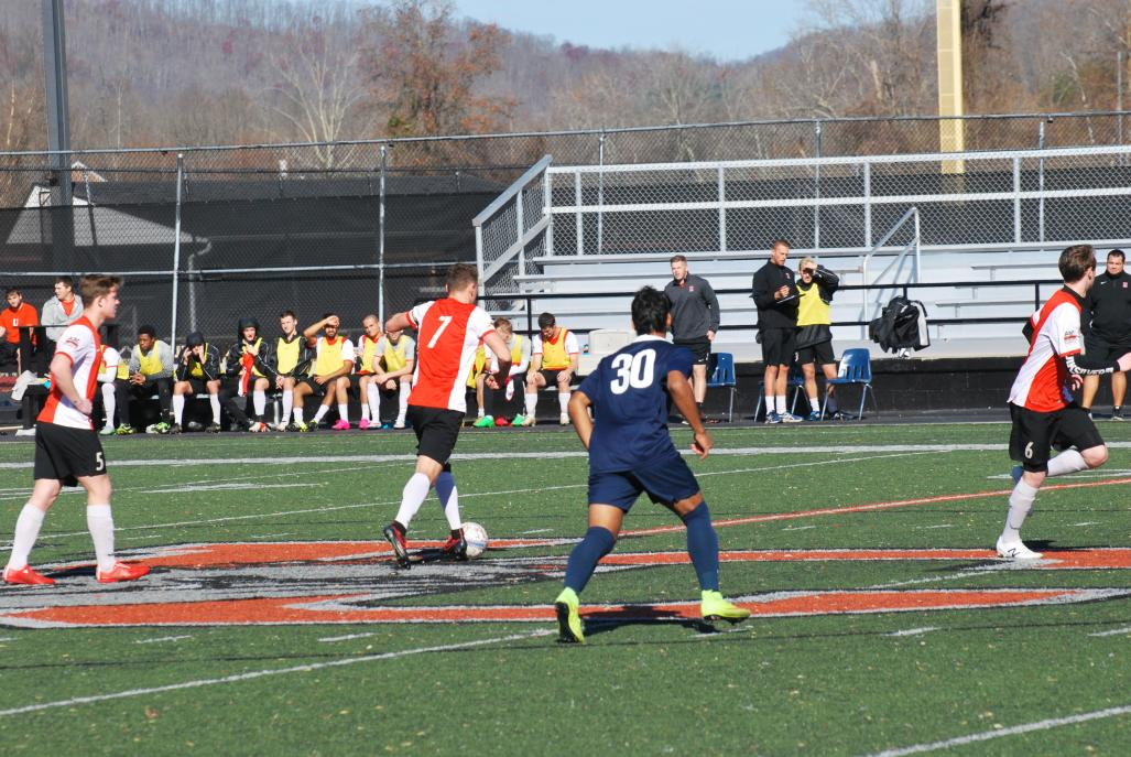 12th MSoc vs. Lyon (NAIA Nationals Opening Round)  Photo