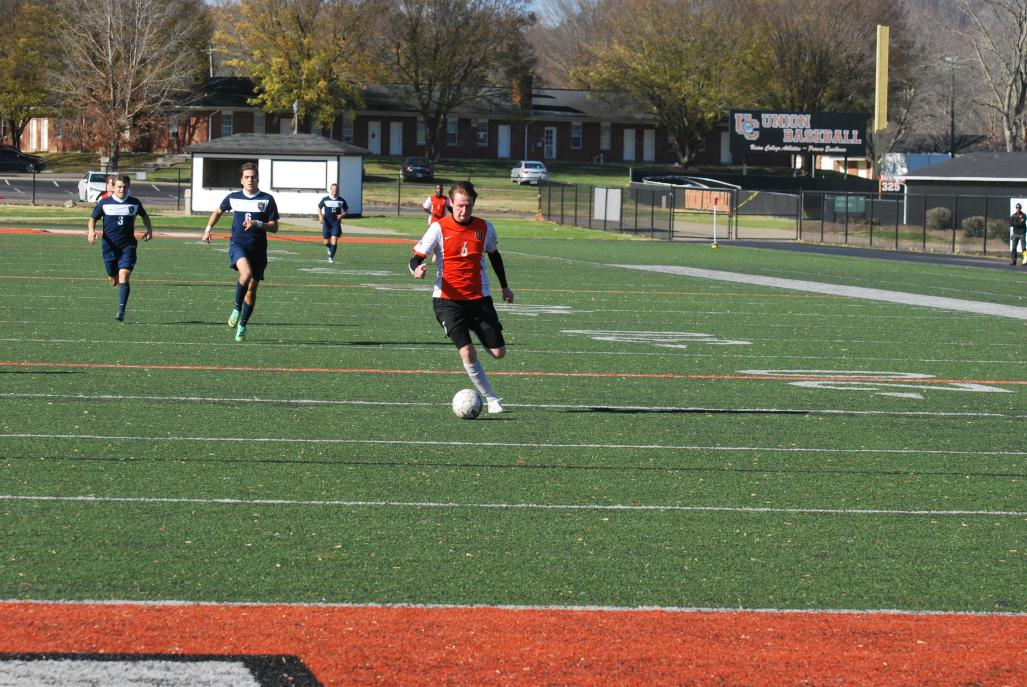 33rd MSoc vs. Lyon (NAIA Nationals Opening Round)  Photo