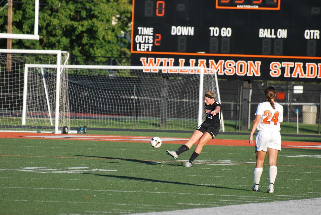 19th WSoc vs. Georgetown Photo