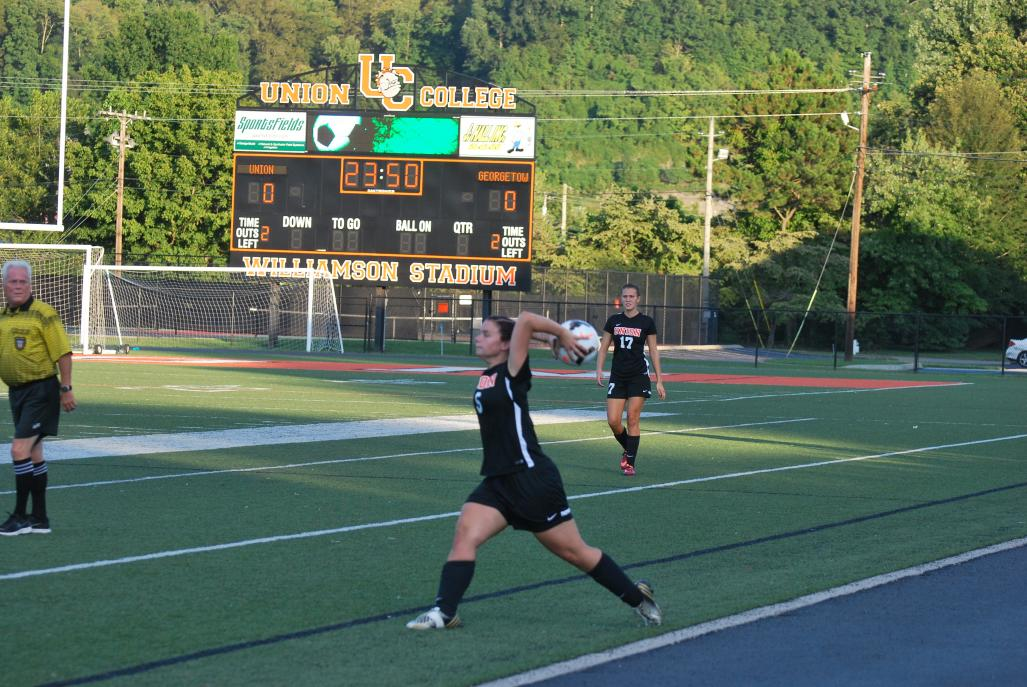 34th WSoc vs. Georgetown Photo