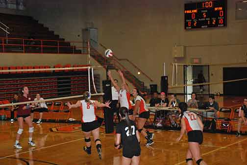 4th Volleyball vs. St. Thomas Photo