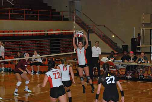 8th Volleyball vs. St. Thomas Photo