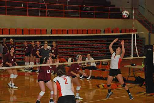 11th Volleyball vs. St. Thomas Photo