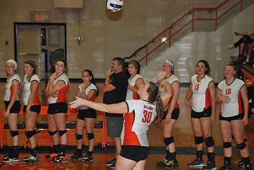 12th Volleyball vs. St. Thomas Photo
