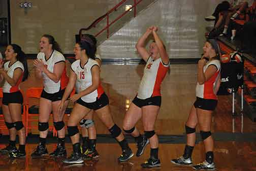 14th Volleyball vs. St. Thomas Photo
