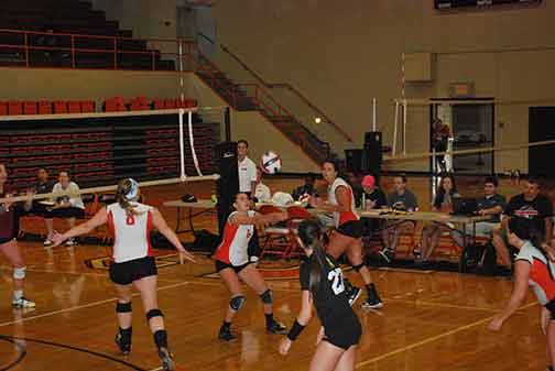 15th Volleyball vs. St. Thomas Photo