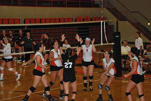 18th Volleyball vs. St. Thomas Photo