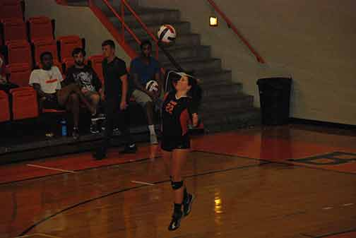 3rd Volleyball vs. Midway Photo