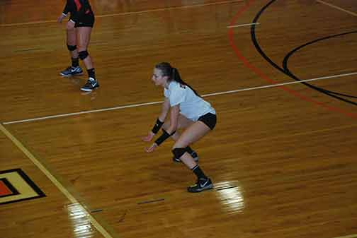 4th Volleyball vs. Midway Photo