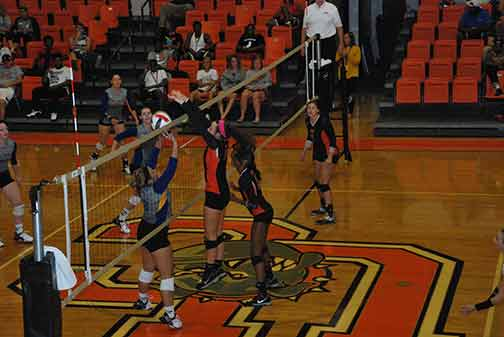 10th Volleyball vs. Midway Photo