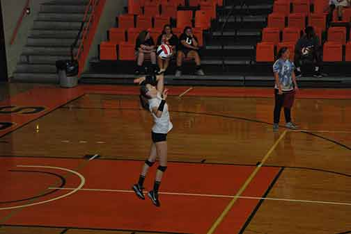 20th Volleyball vs. Midway Photo