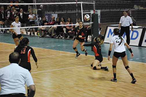 7th Volleyball vs. Hastings (NAIA Tournament) Photo