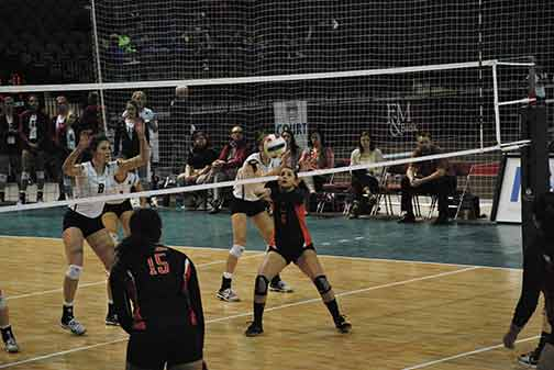 9th Volleyball vs. Hastings (NAIA Tournament) Photo