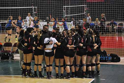 10th Volleyball vs. Hastings (NAIA Tournament) Photo
