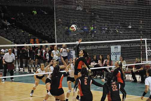 14th Volleyball vs. Hastings (NAIA Tournament) Photo