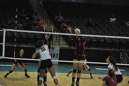18th Volleyball vs. Hastings (NAIA Tournament) Photo