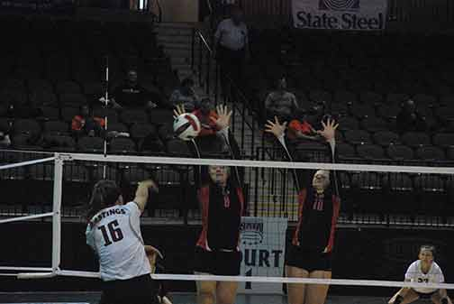 19th Volleyball vs. Hastings (NAIA Tournament) Photo