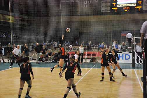 21st Volleyball vs. Hastings (NAIA Tournament) Photo