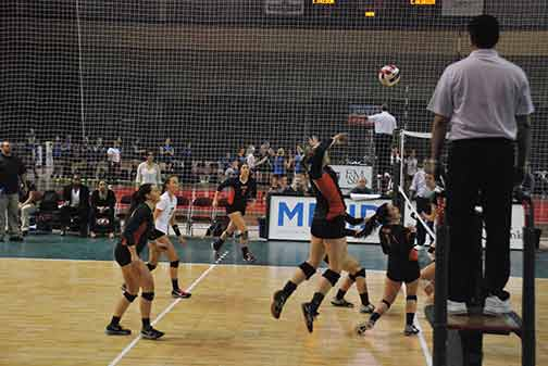 22nd Volleyball vs. Hastings (NAIA Tournament) Photo
