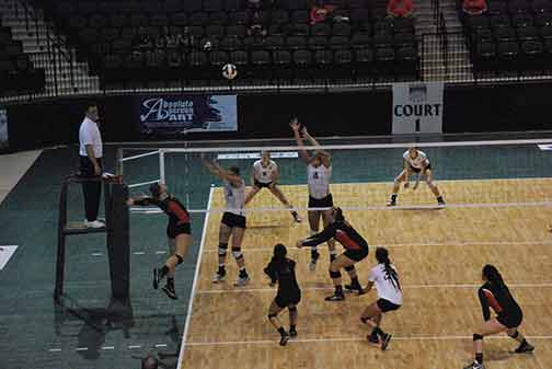 26th Volleyball vs. Hastings (NAIA Tournament) Photo