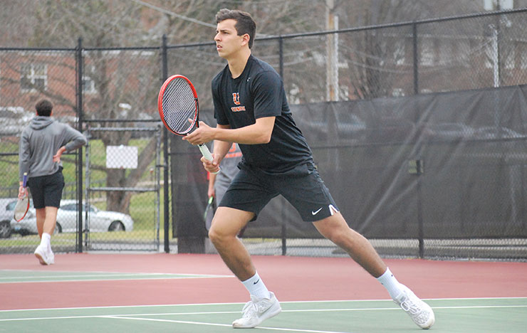 Photo for Union Tennis Loses Non-Conference Matches to LMU