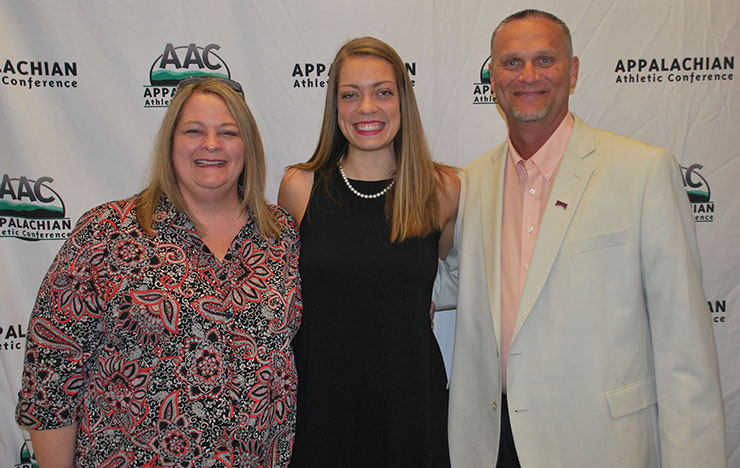 Photo for Nash Named AAC Female Champion of Character