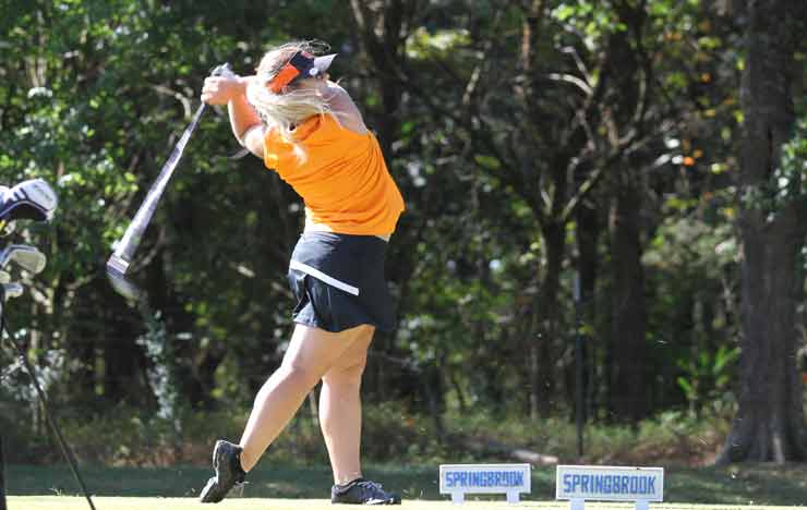 Photo for Women's Golf Places 3rd At TWU Fall Classic