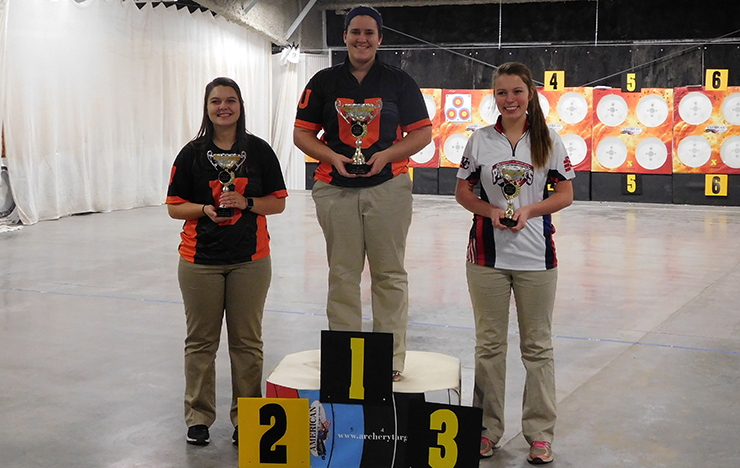 Photo for 7 Archers Qualify for USCA Indoor Nationals