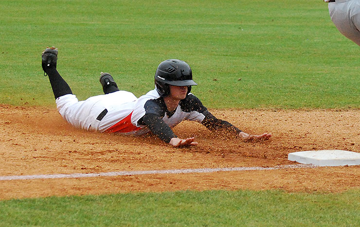 Photo for Lane Perfect at the Plate in AAC Twinbill Sweep