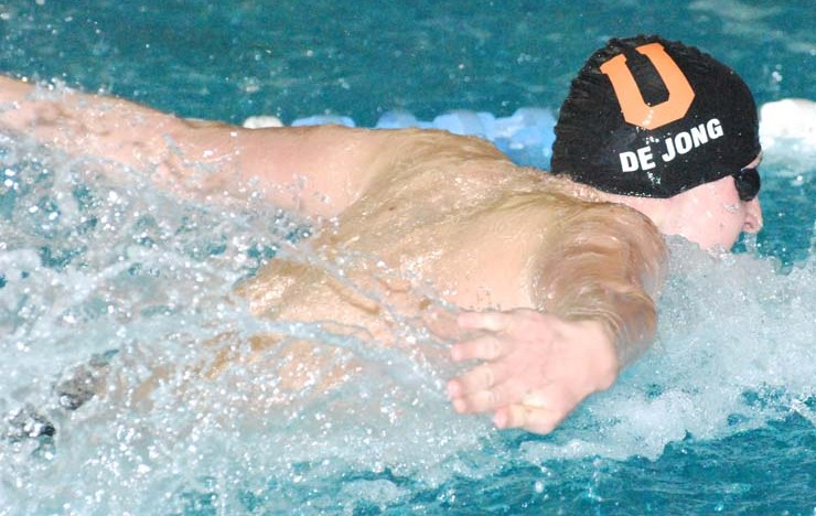 Photo for De Jong Notches 5th-Place Finish at NAIA Swim Nationals