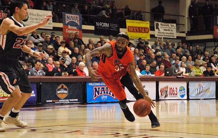 Photo for Union Advances to NAIA National Title Game with 92-80 Win