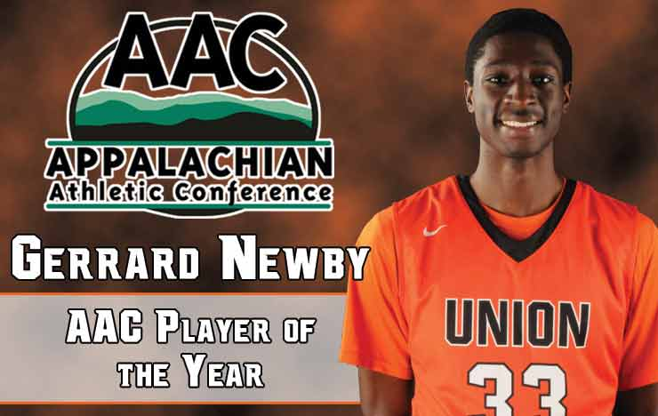 Photo for Newby Named AAC Player of the Year