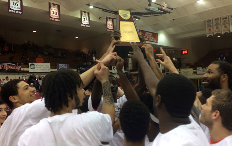 Photo for National Champion Union Earns Top Spot in Final NAIA Poll