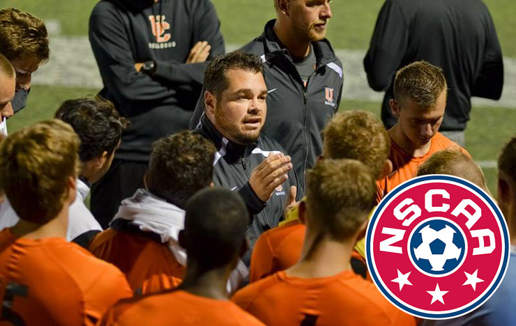 Photo for Brock Earns NSCAA East Region Coach of Year Honors
