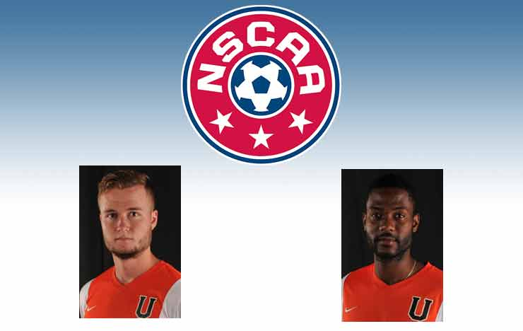 Photo for Hitchman, Jacobs Collect NSCAA All-East Region Honors