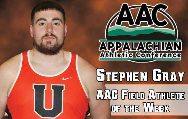 Photo for Gray Collects Second AAC Field Athlete of the Week Honor