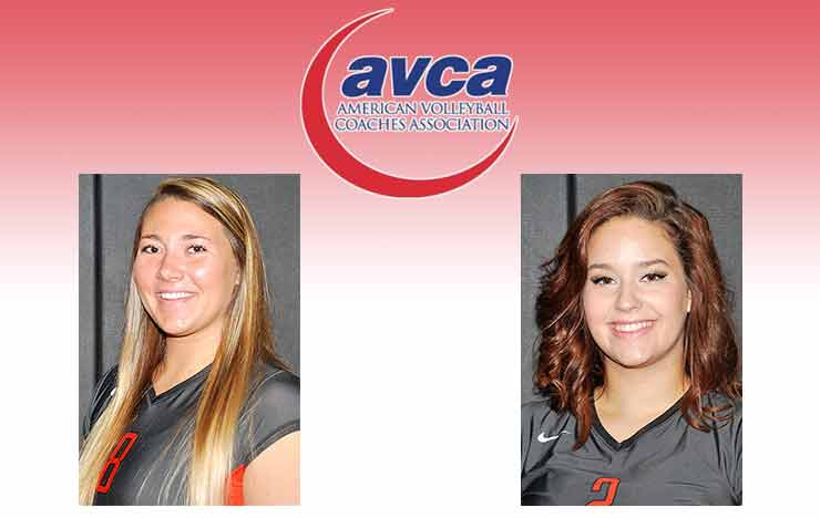Photo for Andrews, Elam Earn AVCA All-Region Honors