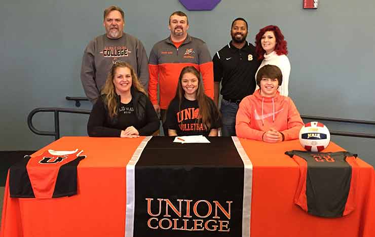 Photo for Union Adds Two-Sport Athlete to Roster for 2017
