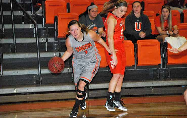 Photo for No. 23 Milligan Holds Off Union in 84-75 AAC Tilt