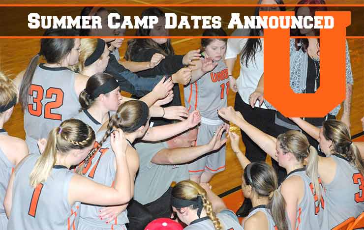 Photo for Dates for Women's Basketball Camps Announced