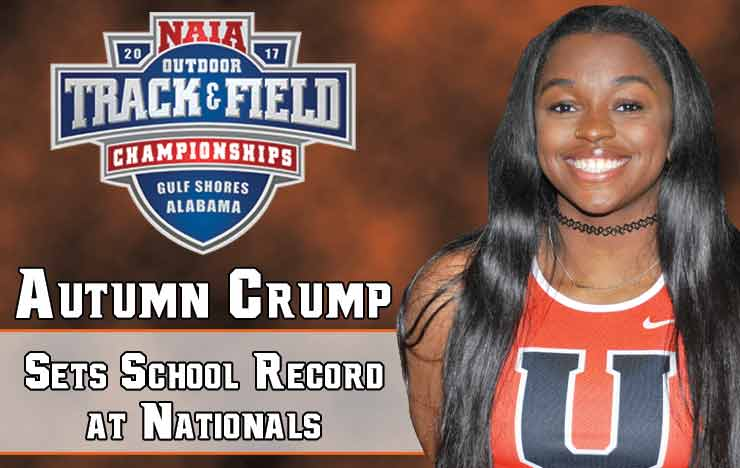 Photo for Crump Sets School Record, Places 9th at Nationals