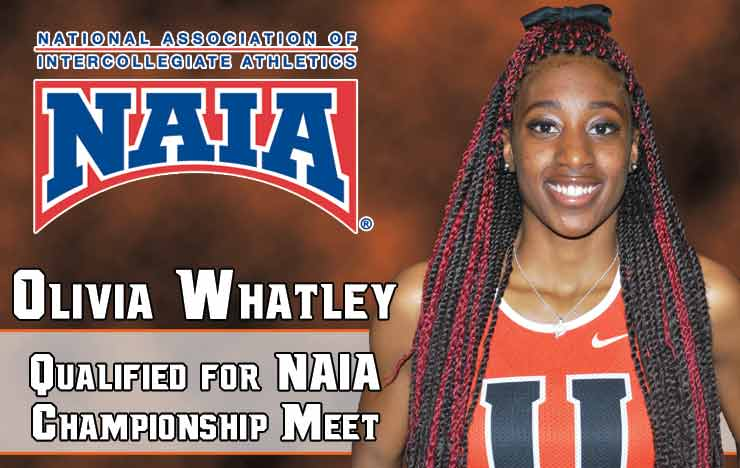 Photo for Whatley Sets Record, Qualifies for Nationals