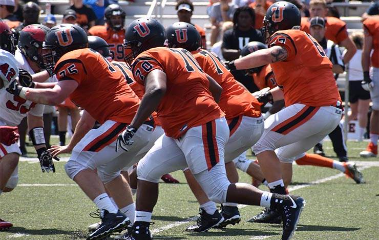 Photo for Offensive Line Paving Way to Strong Start for Bulldogs