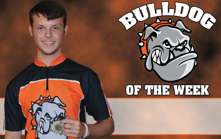 Photo for Whobrey Collects Bulldog of the Week Accolades