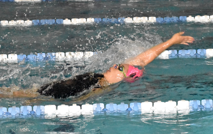 Photo for Union Sweeps AAC Swimmer of the Week Awards