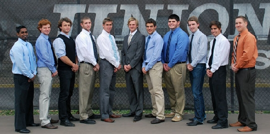 2011 Men's Tennis Team Photo