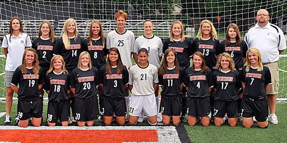 2010 Women's Soccer Team Photo